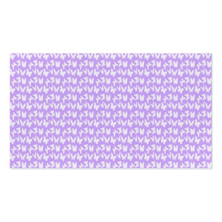 Awareness Butterflies on Lilac Purple Pack Of Standard Business Cards