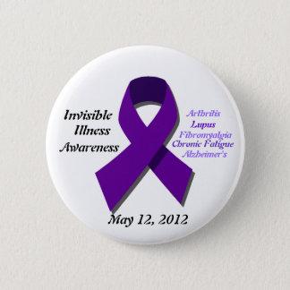 Awareness Day 6 Cm Round Badge