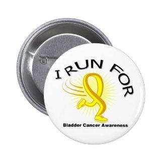 Awareness I Run For Bladder Cancer Pin