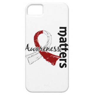 Awareness Matters 7 Head and Neck Cancer iPhone 5 Cover