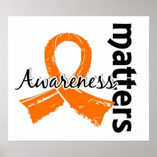 Awareness Matters 7 Multiple Sclerosis Posters