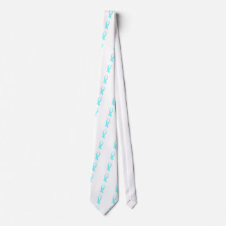 Awareness Ribbon (Light Blue) Tie