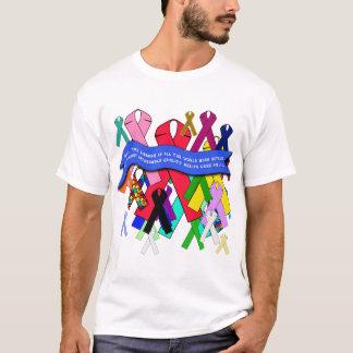 Awareness Ribbons for Universal Health Care T-Shirt
