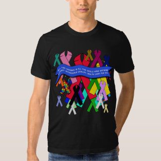 Awareness Ribbons for Universal Health Care T Shirts