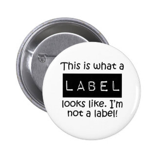 Awareness tee Label 6 Cm Round Badge