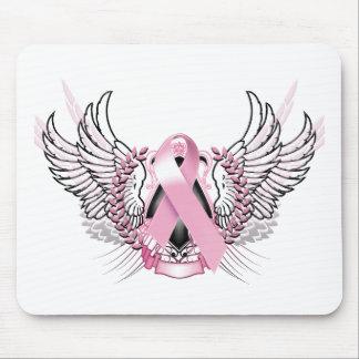 Awareness Tribal Pink Mouse Pad