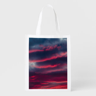 away from our window reusable grocery bag