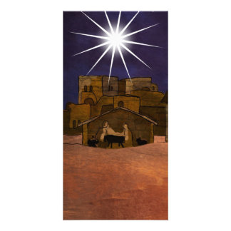 Away in a Manger Photo Cards
