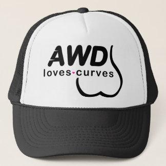 AWD Loves Curves Black Cap