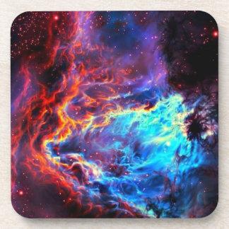 Awe-Inspiring Color Composite Star Nebula Coaster