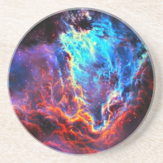 Awe-Inspiring Color Composite Star Nebula Coaster