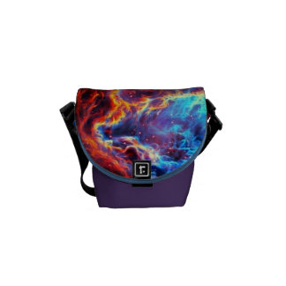 Awe-Inspiring Color Composite Star Nebula Commuter Bags