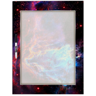 Awe-Inspiring Color Composite Star Nebula Dry Erase Board