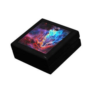 Awe-Inspiring Color Composite Star Nebula Small Square Gift Box