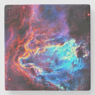Awe-Inspiring Color Composite Star Nebula Stone Coaster