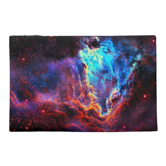 Awe-Inspiring Color Composite Star Nebula Travel Accessory Bag