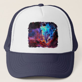 Awe-Inspiring Color Composite Star Nebula Trucker Hat