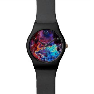 Awe-Inspiring Colour Composite Star Nebula Watches