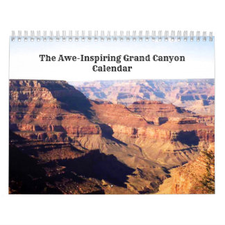Awe-Inspriring Grand Canyon Wall Calendars