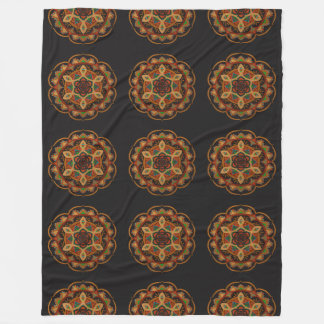 Aweni Mandala Fleece Blanket