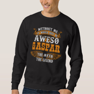 Aweso GASPAR A True Living Legend Sweatshirt
