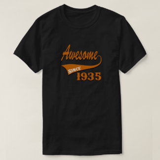 Awesome 1935 Birthday Designs T-Shirt