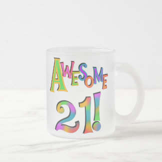 Awesome 21 Birthday T-shirts and Gifts Mugs