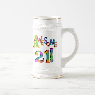 Awesome 21 Birthday T-shirts and Gifts Coffee Mug