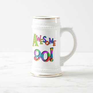 Awesome 90 Birthday T-shirts and Gifs Coffee Mugs