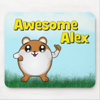 Awesome Alex thumb up Mouse Pad