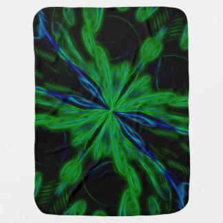 Awesome Alien nebula Swaddle Blankets