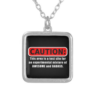 Awesome and Badass Silver Plated Necklace