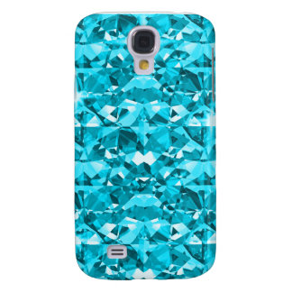 Awesome Aqua Diamond Samsung Galaxy S4 Cover