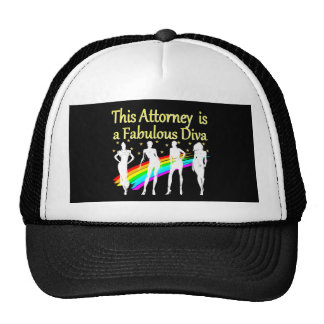 AWESOME ATTORNEY PARTY GIRL DESIGN CAP
