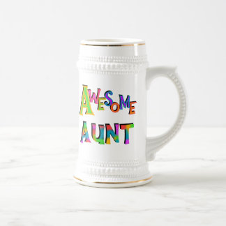 Awesome Aunt T-shirts and Gifts Coffee Mugs