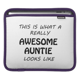 Awesome Auntie iPad Sleeve