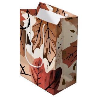 Awesome Autumn Forest Floor M Gift Bag