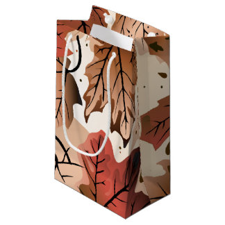 Awesome Autumn Forest Floor S Gift Bag
