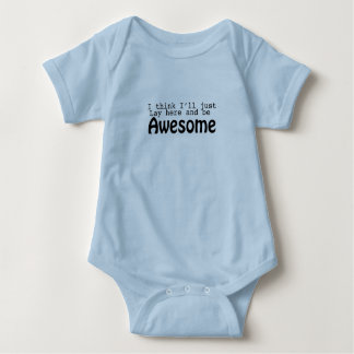 Awesome Baby onsie Baby Bodysuit