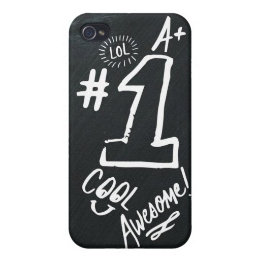 Awesome Back to school iPhone 4/4S Cases