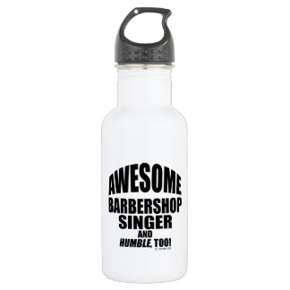 Awesome Barbershop Singer 532 Ml Water Bottle
