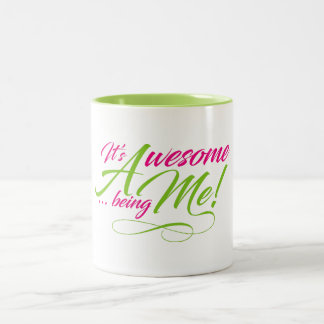 Awesome Being Me Mug