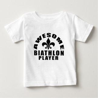 AWESOME BIATHLON PLAYER BABY T-Shirt