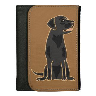 Awesome Black Labrador Dog Wallet