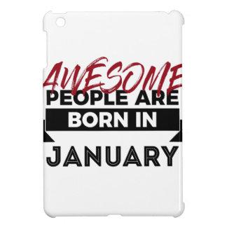 Awesome Born In January Babies Birthday iPad Mini Cover