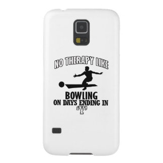 Awesome Bowling DESIGNS Galaxy S5 Cases