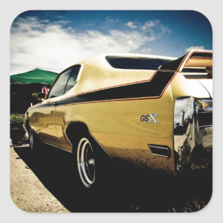 Awesome Buick GSX Muscle Car Square Sticker