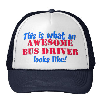 Awesome Bus Driver Cap