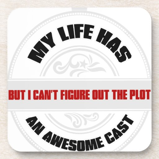 Awesome Cast Drink Coasters