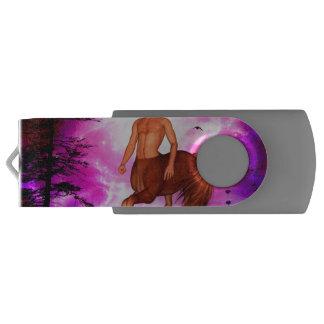 Awesome centaur swivel USB 2.0 flash drive
